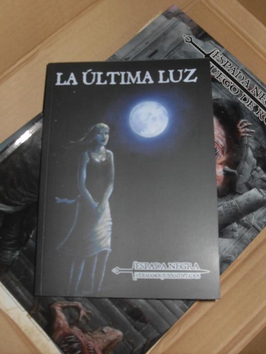 La novela La Última Luz, la primera de la primera Saga de Espada Negra